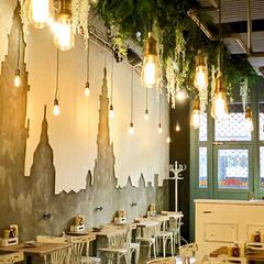 La Pepita Burger Bar : Locales gastronómicos de estilo  de ADC Espacios