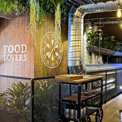 La Pepita Burger Bar : Bares y Clubs de estilo  de ADC Espacios