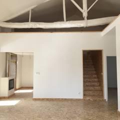 Casas de campo de estilo  por Bigarquitectura