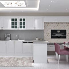 Kitchen units by EN+SA MİMARİ TASARIM