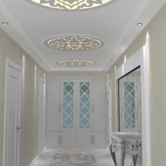EN+SA MİMARİ TASARIM – örnek daire:  tarz Koridor ve Hol