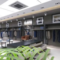 Geschäftsräume & Stores von EN+SA MİMARİ TASARIM