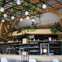RÉNOVATION Restaurant Happy Days: Restaurants de style  par Sb Design Concept