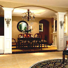 Best Interior Designer  in Delhi: country Dining room by Sense Interiors