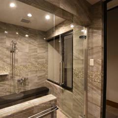 浴室: 有限会社 秀林組が手掛けた浴室です。
