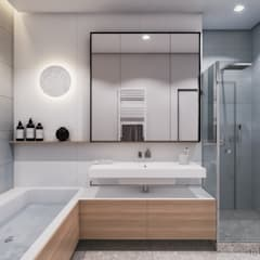 Bathroom by Tobi Architects