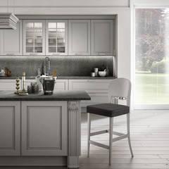 Cucina Dolcevita – International style – Laguna assoluto: Cucina in stile  di Ferrari Arredo & Design