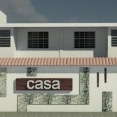 REMODELACION DE VIVIENDA.: Casas de estilo  por ESTUDIO KULUMAK
