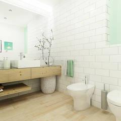 Baños de estilo  por Homestories, Escandinavo