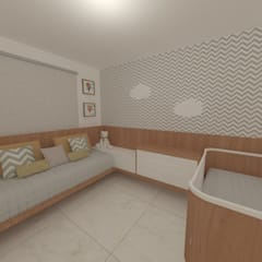 Baby room by Marina Macedo Arquitetura