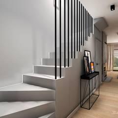CARAMEL: styl , w kategorii Schody zaprojektowany przez Kołodziej & Szmyt Projektowanie wnętrz