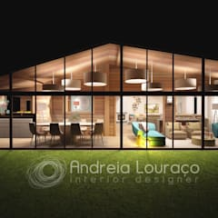 Novo Projecto a apresentar Brevemente... Jardins de Inverno modernos por Andreia Louraço - Designer de Interiores (Contacto: atelier.andreialouraco@gmail.com) Moderno