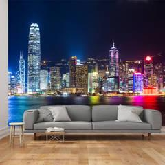 Dijivol Duvar Kağıtları – HONG KONG / vol-DUS0903:  tarz Duvarlar