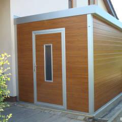 GO-ISO - hochwertiges Gartenhaus isoliert 2,50 x 3,00 m:  Gartenhaus von Trapezblech Gonschior oHG