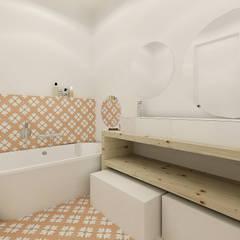 A Casa da Sara e do Tomás: Casas de banho  por Homestories