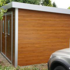 GO-ISO - hochwertiges Gartenhaus isoliert 2,85 x 2,50 m:  Gartenhaus von Trapezblech Gonschior oHG