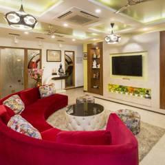 Wohnzimmer von Incense interior exterior pvt Ltd.