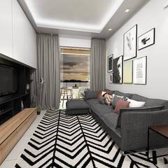 Casa S + V: Salas multimédia  por SÓDESIGN