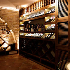 Wine cellar by OM architecture