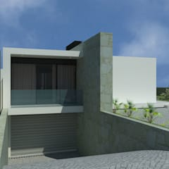 CASA MANHENTE - BARCELOS: Casas unifamilares  por Tiago Araújo Arquitectura & Design