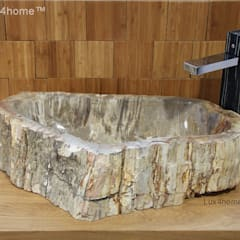 petrified wood sink:  Steam Bath by Lux4home™ Indonesia