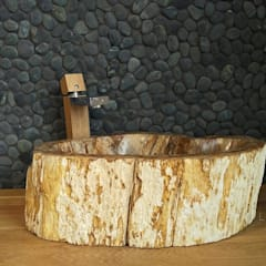petrified wood sinks for sale:  Bathroom by Lux4home™ Indonesia