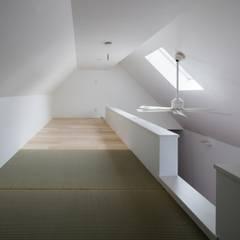 ミニの似合う家 OUCHI-36: 石川淳建築設計事務所が手掛けた和室です。,ミニマル