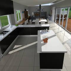 آشپزخانه by JVG Arquitectura