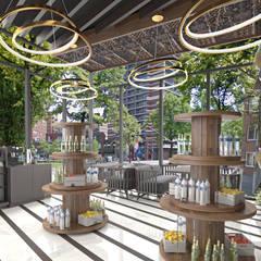 Khu Thương mại by HePe Design interiors