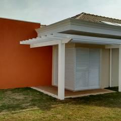 Cabañas de madera de estilo  por Seu Projeto Arquitetura