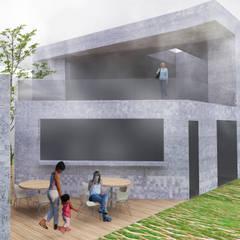 Salones de eventos de estilo  por Panapaná • Estúdio de Projetos