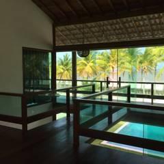 Projekty,  Podłogi zaprojektowane przez Arquitetura & Design - Marcela Tavares