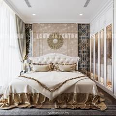 Nội thất Vinhomes Golden River - Vẻ đẹp Châu Âu giữa lòng thành phố:  Phòng ngủ by ICON INTERIOR