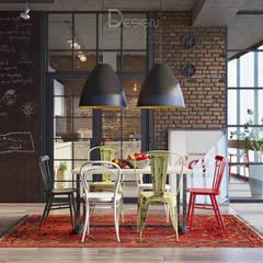 В духе брутального романтизма: Столовые комнаты в . Автор – Design Service