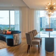 Grange Road: modern Dining room by Design Intervention