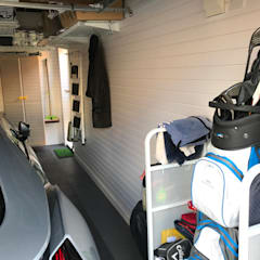 You CAN fit a car into a single garage!:  Double Garage by Garageflex