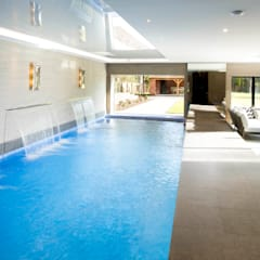 Private pool with lower garden access:  Spa by Design by UBER