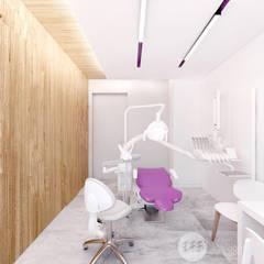 Gabinet no.2: styl , w kategorii Kliniki zaprojektowany przez 365 Stopni