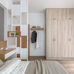 沐木:  臥室 by 知域設計