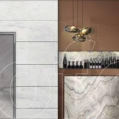 VA Residence: modern Wine cellar by Language of Design