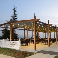 PERGOLA A.Ş. – Motorlu Pergola Tente Sistemleri:  tarz Alışveriş Merkezleri