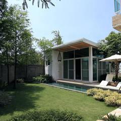 Дома на одну семью в . Автор – 大桓設計顧問有限公司, Минимализм Металл