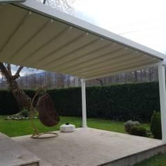 PERGOLA A.Ş. – Dış Mekan Kapama Sistemleri: modern tarz Kış Bahçesi