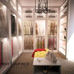 """Projecto Closet """"1"""": Closets  por Andreia Louraço - Designer de Interiores (Contacto: atelier.andreialouraco@gmail.com)"""
