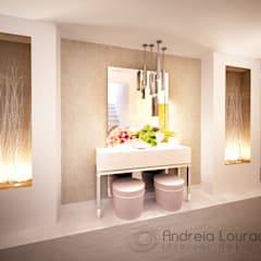 Corridor & hallway by Andreia Louraço - Designer de Interiores (Contacto: atelier.andreialouraco@gmail.com)