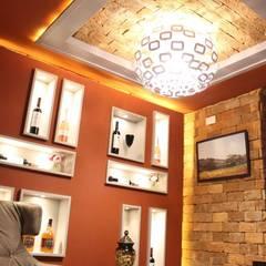 Bodegas de vino de estilo  por Deyse Porto Arquitetura,