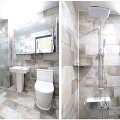 1층 욕실공간: 하우스톡의  욕실