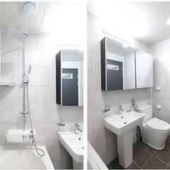 2층화장실: 하우스톡의  욕실