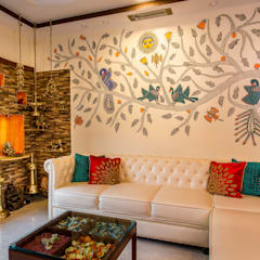 classic Living room by Rennovate Home Solutions pvt ltd