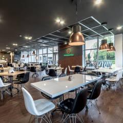 Realizacja restauracji 10 STOPNI w Tarnowskich Górach: styl , w kategorii Gastronomia zaprojektowany przez Archi group Adam Kuropatwa,